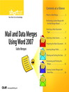 Mail and Data Merges Using Word 2007 (Digital Short Cut) (eBook)