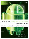 Learning Android Application Programming (eBook): A Hands- On Guide to Building Android Applications