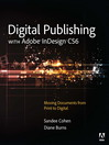 Cover image of Digital Publishing with Adobe InDesign CS6