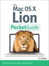 Mac OS X Lion Pocket Guide (eBook)