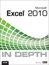 Microsoft Excel 2010 in Depth (eBook)