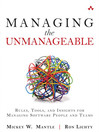 Managing the Unmanageable (eBook): Rules, Tools, and Insights for Managing Software People and Teams