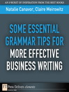 Some Essential Grammar Tips for More Effective Business Writing (eBook)