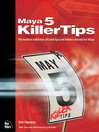 Maya 5 Killer Tips (eBook)