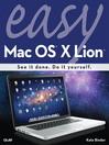 Easy Mac OS X Lion (eBook)