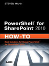 PowerShell for SharePoint 2010 How-To (eBook): Decoding the Mysteries of Personality