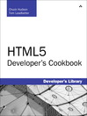 HTML5 Developer's Cookbook (eBook)