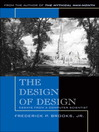 The Design of Design (eBook): Essays from a Computer Scientist