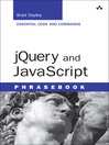 jQuery and JavaScript Phrasebook (eBook)