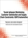 Tussle between Maintaining Customer Satisfaction and Supply Chain Constraints (eBook): IGNYS Automotive