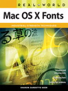 Real World Mac OS X Fonts (eBook)