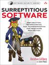 Surreptitious Software (eBook)