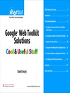 Google Web Toolkit Solutions (Digital Short Cut) (eBook)