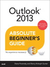 Outlook® 2013 Absolute Beginner's Guide (eBook)