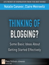 Thinking of Blogging? (eBook): Some Basic Ideas About Getting Started Effectively
