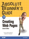 Absolute Beginner's Guide to Creating Web Pages (eBook)