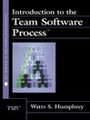 Introduction to the Team Software Process (SM) (eBook)