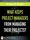 What Keeps Project Managers from Managing Their Projects (eBook)