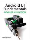 Android UI Fundamentals (eBook): Develop & Design