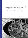 Programming in C (eBook)