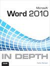 Microsoft Word 2010 In Depth (eBook)