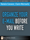 Organize Your E-mail Before You Write (eBook)