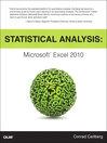 Statistical Analysis (eBook)
