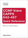 CCNP Voice CAPPS 642-467 Quick Reference (eBook): Guide to a Vector Drawing Program
