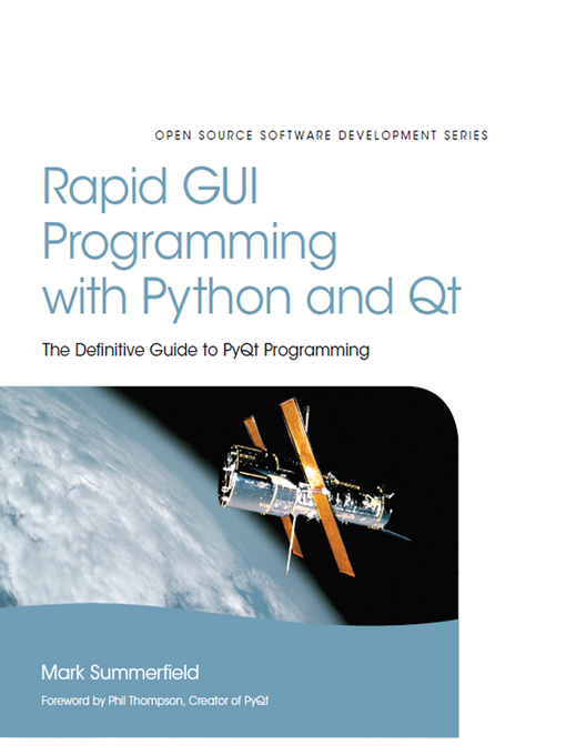 Rapid GUI Programming with Python and Qt (eBook): For .NET Framework 3.5