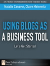 Using Blogs as a Business Tool (eBook): Let's Get Started