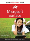 Microsoft Surface (eBook): Visual QuickStart Guide