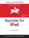 Keynote for iPad (eBook): Visual QuickStart Guide
