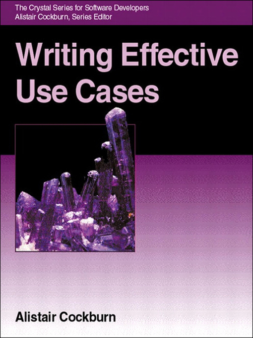Writing Effective Use Cases (eBook)