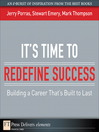 It's Time to Redefine Success (eBook): Building a Career That's Built to Last