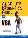 Absolute Beginner's Guide to VBA (eBook)