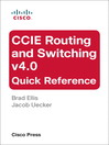 CCIE Routing and Switching v4.0 Quick Reference (eBook)
