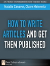 How to Write Articles and Get them Published (eBook)