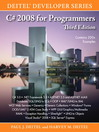 C# 2008 for Programmers (eBook)