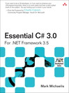 Essential C# 3.0 (eBook): An Introduction to the Concepts and Challenges of Digital Identities