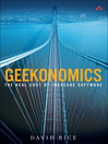 Geekonomics (eBook): The Real Cost of Insecure Software