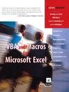 VBA and Macros for Microsoft Excel (eBook)