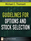 Guidelines for Options and Stock Selection (eBook)