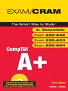 CompTIA A+ Exam Cram (Exams 220-602, 220-603, 220-604) (eBook)