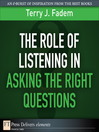 The Role of Listening in Asking the Right Questions (eBook)
