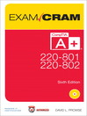 CompTIA® A+ 220-801 and 220-802 Authorized Exam Cram (eBook)