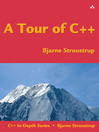 A Tour of C++ (eBook)
