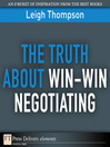 The Truth About Win-Win Negotiating (eBook)