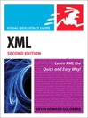 XML (eBook): Visual QuickStart Guide