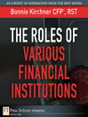 The Roles of Various Financial Institutions (eBook)