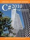 C# 2010 for Programmers (eBook)